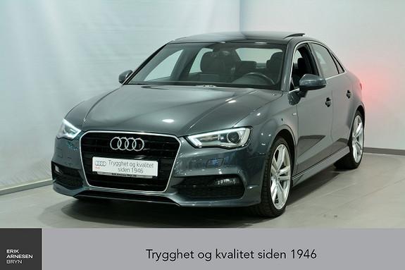 Audi A3 Sportsedan 1,4 TFSI 125hk Ambition S tronic 2 x S line  2015, 46300 km, kr 269000,-
