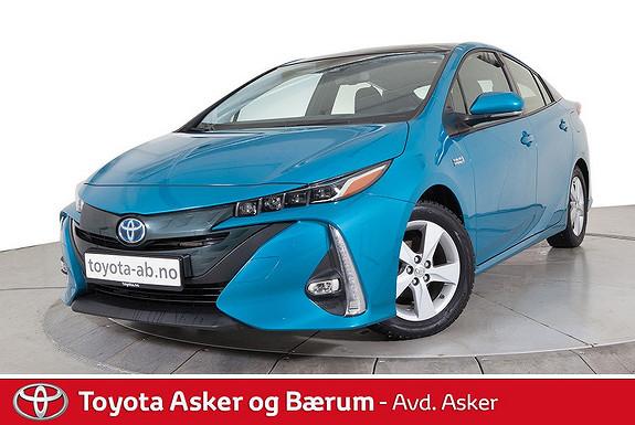 Toyota Prius Plug-in Hybrid 1,8 VVT-i Solar PHV Plug-in Hybrid Solar B  2017, 12100 km, kr 319000,-