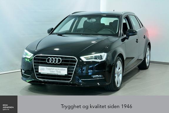 Audi A3 Sportback 1,2 TFSI 105hk Ambition  2014, 102600 km, kr 159000,-