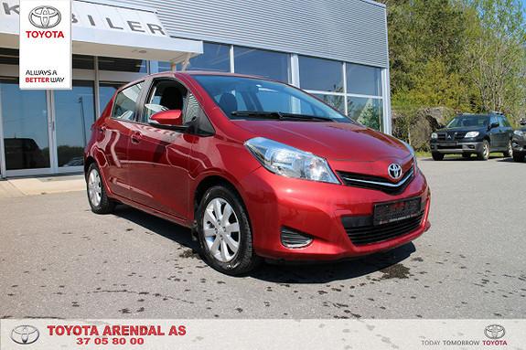 Toyota Yaris 1,33 Active  2012, 74000 km, kr 109000,-