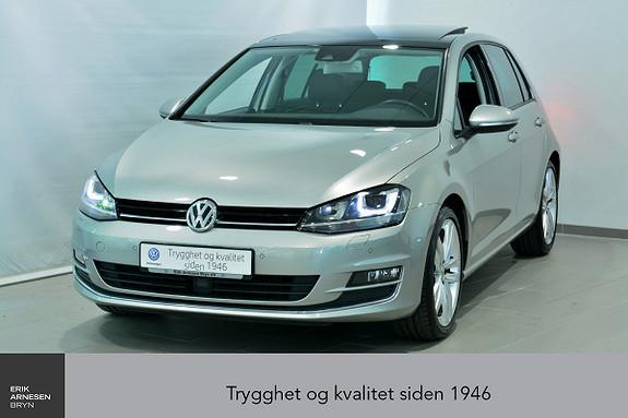 Volkswagen Golf 1,4 TSI 125hk Highline DSG  2015, 45600 km, kr 239000,-