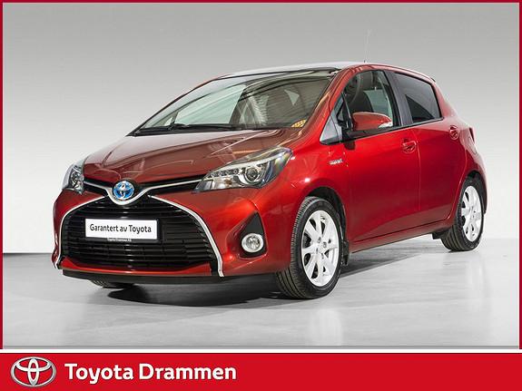 Toyota Yaris 1,5 Hybrid Style e-CVT  2016, 38090 km, kr 209000,-