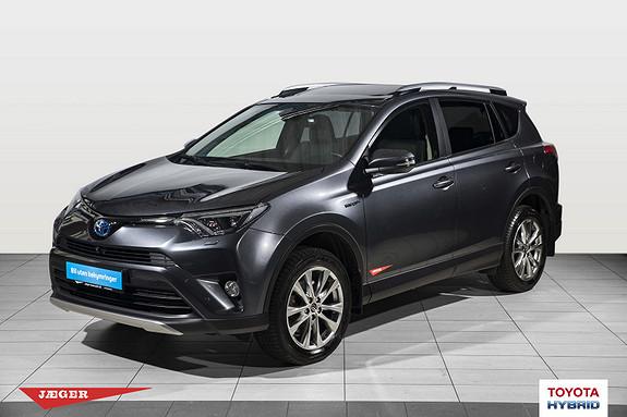 Toyota RAV4 Hybrid 4WD Executive Flott bil med hengerfeste  2017, 30800 km, kr 449000,-
