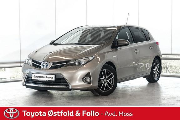 Toyota Auris 1,8 Hybrid E-CVT Active+ / GPS / MØRKE RUTER / CRUISE /  2015, 65300 km, kr 192000,-