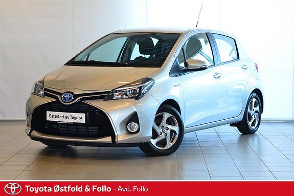 Toyota Yaris 1,5 Hybrid Active S e-CVT  2016, 11893 km, kr 189000,-