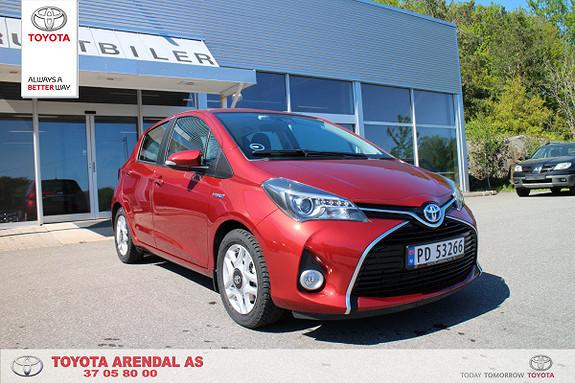Toyota Yaris 1,5 Hybrid Active e-CVT  2015, 9700 km, kr 169000,-