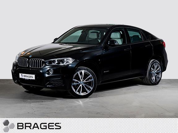 BMW X6 xDrive30d M-Sportspakke, Head-Up, Navi, Krok, Hifi  2015, 53000 km, kr 719000,-