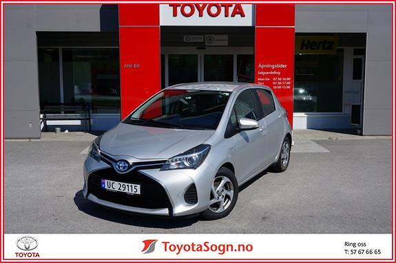 Toyota Yaris 1,5 Hybrid Active e-CVT  2015, 63000 km, kr 165000,-