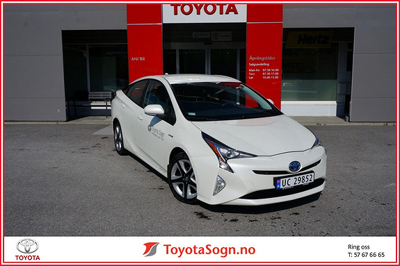 Toyota Prius 1,8 VVT-i Hybrid Executive  2016, 33538 km, kr 289000,-