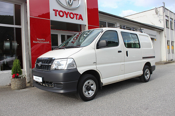 Toyota HiAce 2.5 D-4D 117hk KORT, NY REG: REIM+ SERVICE  2011, 118500 km, kr 199900,-