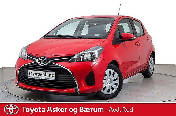 Toyota Yaris 1,0 Active  2015, 34200 km, kr 139000,-