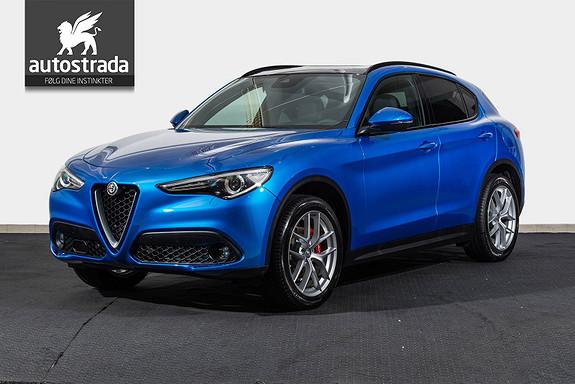 Alfa Romeo Stelvio 2.2d 210hk Q4 Sportspakke Navi H.feste kun 5490,-* imnd  2018, 50 km