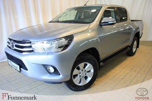 Toyota HiLux D-4D 150hk D-Cab 4WD SR aut  2017, 8348 km, kr 419000,-
