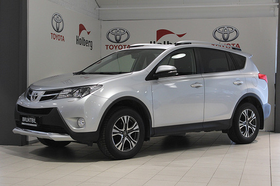 Toyota RAV4 2,0 D-4D 4WD Active Style Hengerfeste, Navi, Keyless ++  2015, 66800 km, kr 319000,-