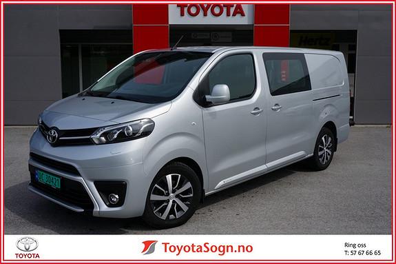 Toyota Proace 2,0 D 122 Comfort L2H1  2017, 14000 km, kr 299000,-