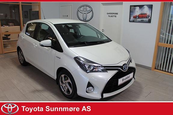 Toyota Yaris 1,5 Hybrid Active e-CVT **RYGGEKAMERA**DAB+**NYBILGARAN  2015, 32000 km, kr 169000,-
