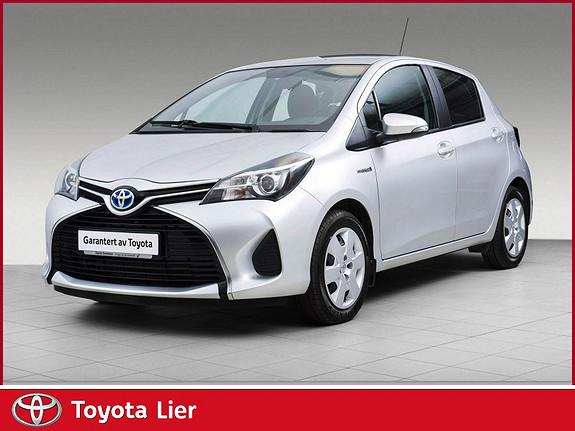 Toyota Yaris 1,5 Hybrid Active  2015, 33700 km, kr 169000,-