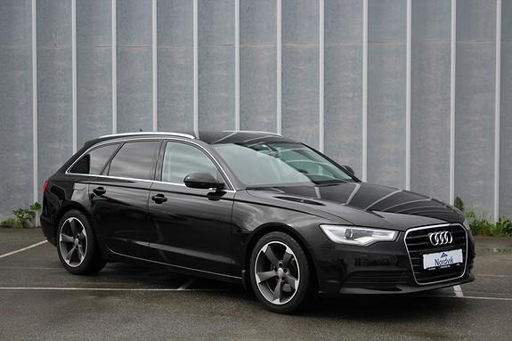 Audi A6 2,0 TDI 163 Hk multitronic DAB. Skinn/Alcantara. PDC  2012, 46798 km, kr 299000,-