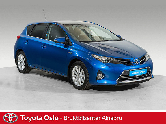 Toyota Auris 1,8 Hybrid E-CVT Executive Glasstak,  2015, 59 895 km, kr 229 900,-