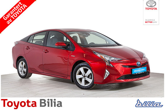 Toyota Prius 1,8 hybrid automat, høyeste utstyrsgrad, meget pen  2017, 49792 km, kr 289000,-