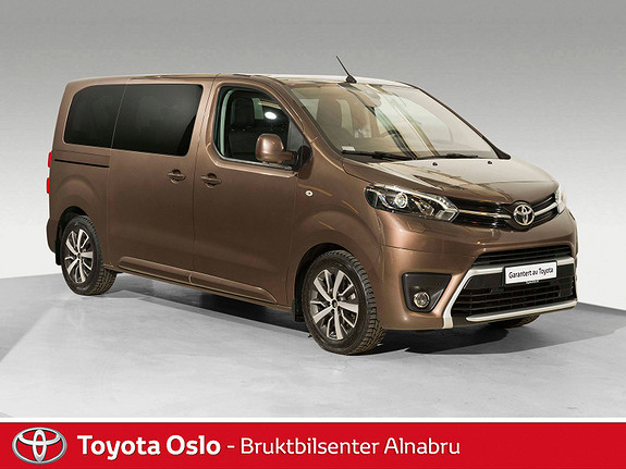 Toyota Proace Verso Medium 2,0D 177 Executive Shuttle aut 9-seter,  2017, 27 806 km, kr 599 900,-
