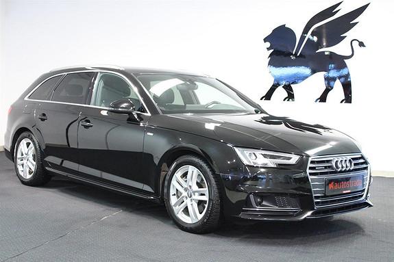 Audi A4 2.0  Quattro S Line Aut ACC LED Feste  2016, 53000 km, kr 459000,-