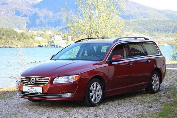 Volvo V70 D2 Momentum aut 111g Skinn, Automat, Navigasjon  2014, 84900 km, kr 249000,-