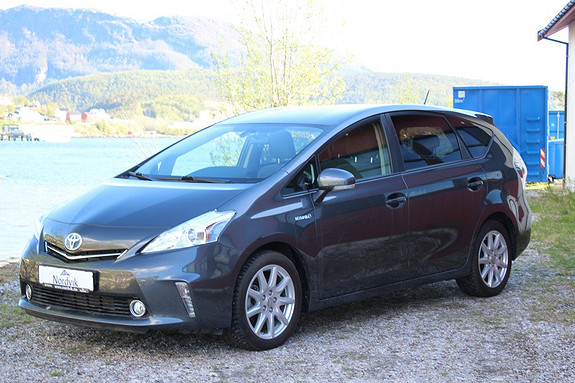 Toyota Prius+ Seven 1,8 VVT-i Hybrid Executive HeadUP  2014, 19500 km, kr 279000,-
