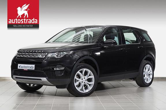 Land Rover Discovery Sport 2.0  TD4 HSE/Webasto/H.feste/Panorama/Kamera/Navi