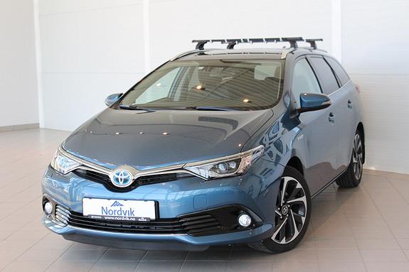 Toyota Auris 1,8 Hybrid E-CVT Style  2015, 26965 km, kr 259000,-