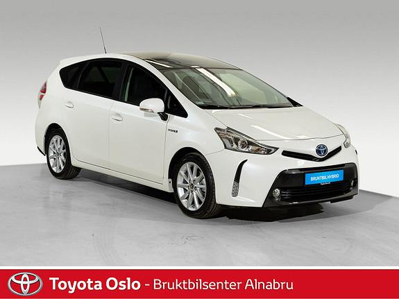 Toyota Prius+ Seven 1,8 VVT-i Hybrid Executive Skyview Safety Sense,  2018, 6798 km, kr 379900,-