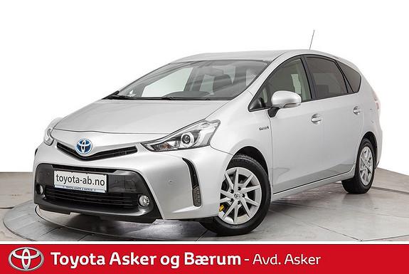 Toyota Prius+ Seven 1,8 VVT-i Hybrid Executive SE HER  2016, 34600 km, kr 299000,-