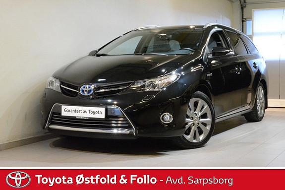 Toyota Auris Touring Sports 1,8 Hybrid Executive , SKINN/PANORAMATAK  2015, 20500 km, kr 238000,-