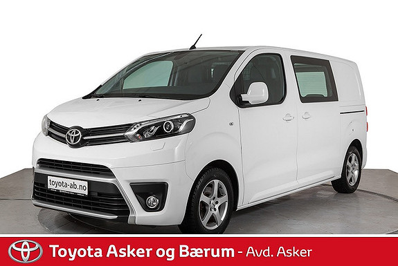 Toyota Proace 1,6 D 115 Comfort Medium L1H1  2016, 31000 km, kr 225000,-