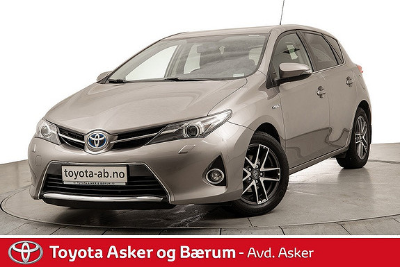 Toyota Auris 1,8 Hybrid E-CVT Active+  2015, 40200 km, kr 204000,-