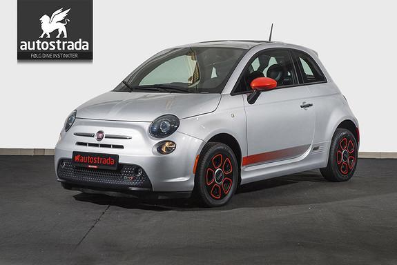 Fiat 500 100% Elektrisk  2014, 39500 km, kr 145000,-