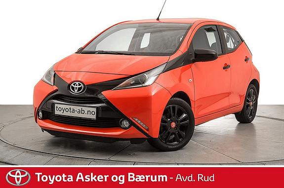 Toyota Aygo x-cite 1,0  2014, 48000 km, kr 109000,-