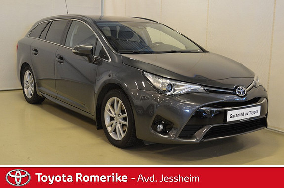 Toyota Avensis Touring Sports 1,6 D-4D Active Style  2015, 58500 km, kr 249000,-