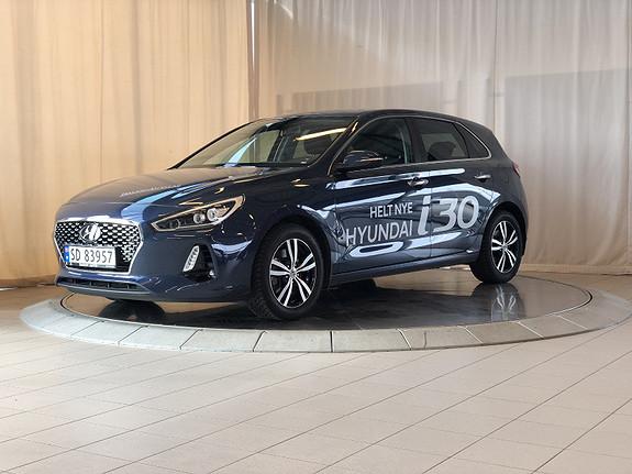 Hyundai i30 1,4 T-GDi Teknikkpakke aut  2017, 17500 km, kr 278000,-