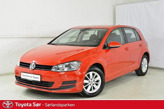 Volkswagen Golf 1,6 TDI 90hk Trendline m/hengerfeste  2014, 79500 km, kr 139000,-