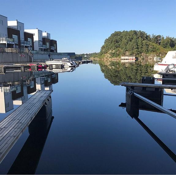 Nye boliger på bryggekanten,  Nye Vestnes.