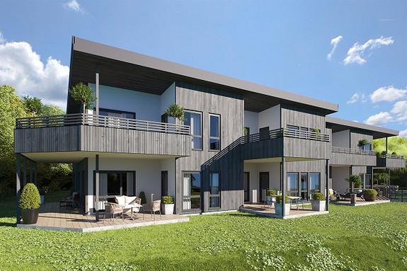 Malmø - Nye, store leiligheter med solrike terrasser og P-kjeller. (Leil. 3,5,7 og 8 er allerede solgt)