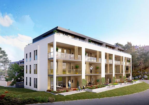 19 vestvendte selveierleiligheter sentralt på Eg. 13 leiligheter solgt!