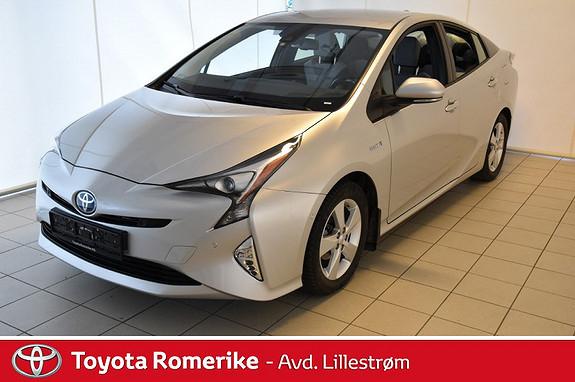 Toyota Prius 1,8 VVT-i Hybrid Executive m/ Hengerfeste  2016, 21710 km, kr 275000,-