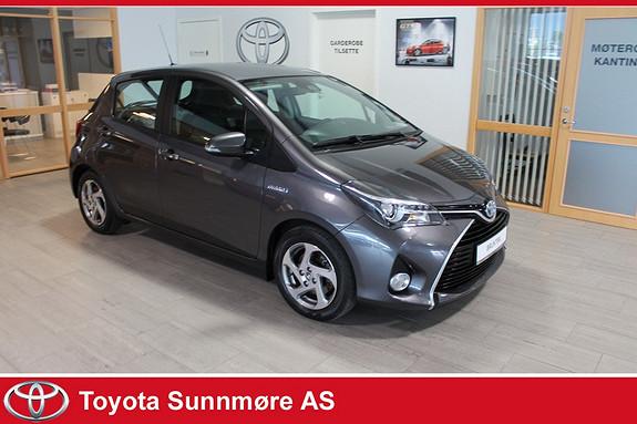 Toyota Yaris 1,5 Hybrid Active e-CVT **VELHOLDT**LAV KM**DAB+**RYGGE  2015, 26784 km, kr 169000,-