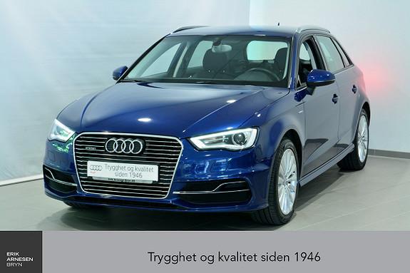 Audi A3 Sportback 1,4 TFSI Ambition Plug-in hybrid  2015, 45100 km, kr 269000,-