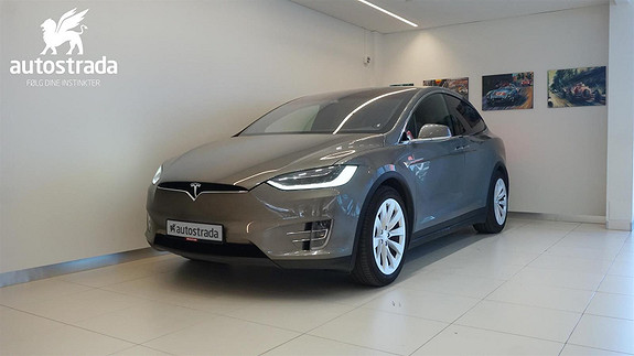 Tesla Model X 90D Fullspekket! Premiumpakke/6-seter/ hengerfeste