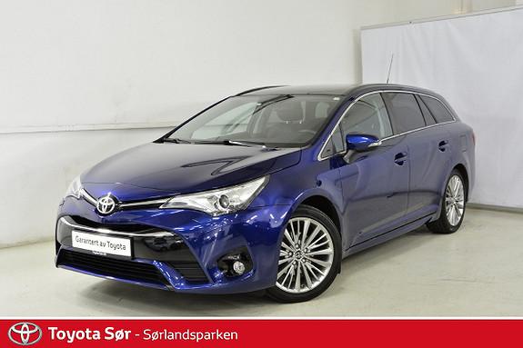 Toyota Avensis 1,8 Premium Multidrive 7S panoramatak og hengerfeste  2015, 55000 km, kr 279000,-