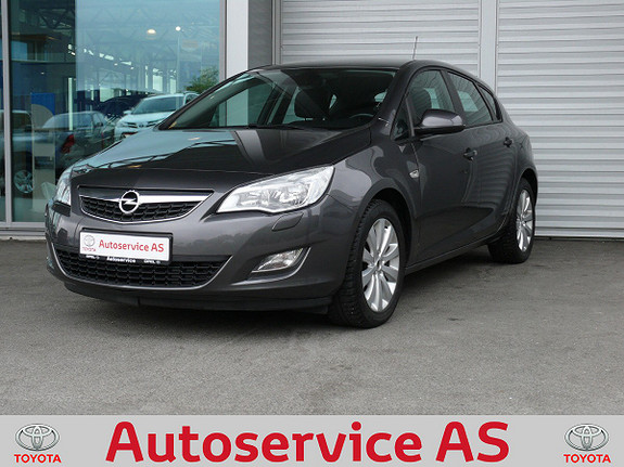Opel Astra 1,6  Enjoy  2010, 87000 km, kr 99000,-