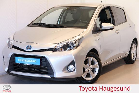 Toyota Yaris 1,5 Hybrid Style Kamera, Bluetooth, delskinn, cruise  2013, 44378 km, kr 149000,-